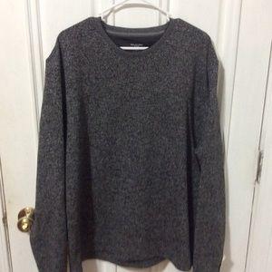 Men's Fleece Crew Neck Sweater